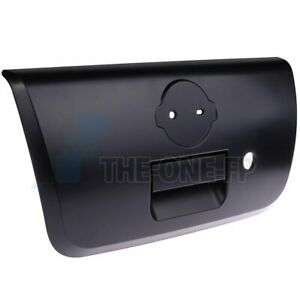 Textured Black Tail Gate Handle W Bezel Keyhole Fit 01 04 Nissan Frontier