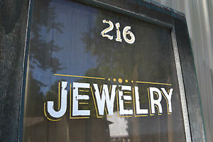 Antique Victorian Glass Exterior Front Entry Wood Door Jewelery Store 82 X 351 2