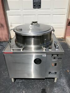 Market Forge Tilt Dmt 40 Electric Tilting Steam Kettle Filtration Free Shipping