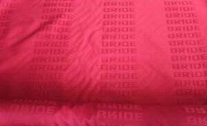 Bride Seats Red Fabric Interior Fabric Red2 0m X1 6m Jdm Front Rear