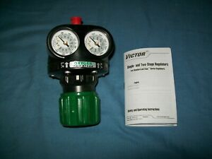 New Victor Ets4 200 540 Edge High Capacity Oxygen Two Stage Regulator Cga 540