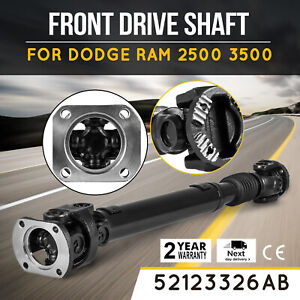 Useful Front Drive Shaft Prop For 03 13 Dodge Ram 2500 3500 Diesel 52123326ab Lo