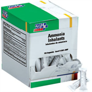 First Aid Only H5041 amp Ammonia Inhalant Ampoules 100 box