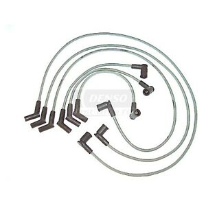 Denso Set Of 6 Spark Plug Wires New Ford Mustang 2001 2004 671 6108
