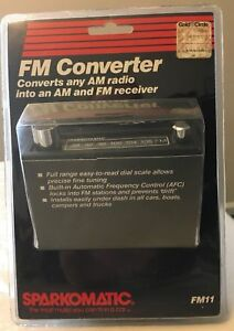 Sparkomatic Fm Converter New Sealed
