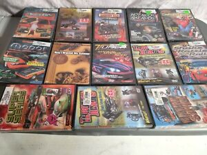 Box Of Dvds About Cars And Motorcycles Tuning