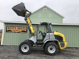 Wacker Neuson Wl280 4x4 Compact Wheel Loader 2333 Hours All Wheel Steer