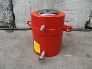 Spx Power Team R3556d 355 Ton 6 Inch Stroke Double Acting Hydraulic Cylinder