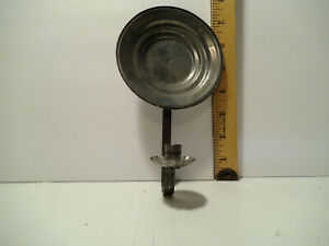 Primitive Wall Sconce Candle Holder 8 H X 4 1 2 W Holds 1 4 Round Candle