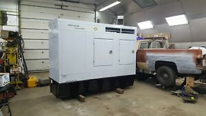 Spectrum Detroit Diesel Single Phase Generator
