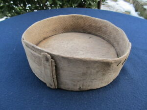 Antique Primitive Old Big Wooden Cup Bowl Measurment For Grain Or Flour Krina