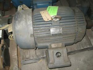 Teco Explosion Proof Industrial Induction Motor 256t Frame 20 Hp 3520 Rpm