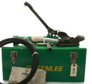 Greenlee 800 Hydraulic Cable Bender W 1725 Foot Pump Case