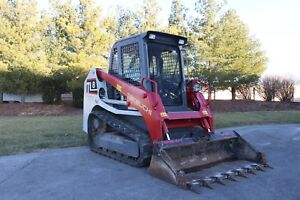 Takeuchi Tl8 Low Hours One Owner High Flow Cab Heat And Air clean