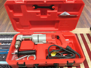 Milwaukee 1107 1 1 2 Right Angle Drill In Case W 48 06 2871 Right Angle Unit