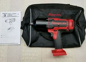 Snap on Ct8850 1 2 18 Volt Monsterlithium ion Impact Wrench With Tote