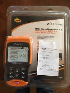 Elite Autoscanner Kit Actron Cp9690 Obd1 And Obd2 Scan Tool