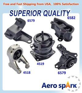 For 1999 2004 Honda Odyssey 3 5l Engine Motor Trans Mount Set 5pcs Hydraulic