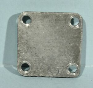 1957 1959 Chevrolet Corvette Fuel Injection Spill Valve Aluminum Cover Plate