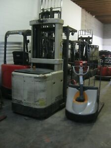 Crown narrow aisle Electric Orderpicker Forklift Crown Electric Pallet Jack