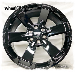 22 Inch Gloss Black 2017 Chevy Rally Oe Replica Rims Cadillac Escalade 6x5 5 4x