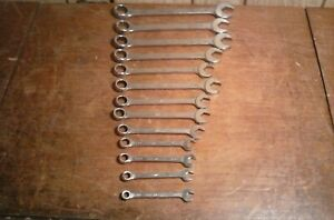 Mac Tools 13 Piece Metric Combination Wrenches 7mm To 10mm