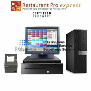 Pcamerica Rpe Pizza Pizzeria Restaurant New Pos 4gb Ram Very Fast Free Support