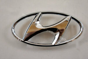 2010 To 2012 Hyundai Sonata Front Grille Head Symbol Mark Emblem Logo Badge