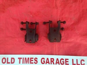Mopar Engine Motor Mounts 340 360 Dart Duster Charger 1973 74 Spool Style