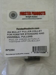 Forster Bullet Puller Collet .264-(BP2264) NEW in Package