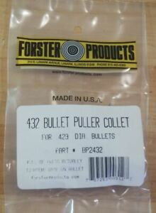 Forster Bullet Puller Collet .432-(BP2432) NEW in Package