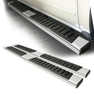 For 07 18 Chevy Silverado Crew Cab 6 Oe Style Side Step Nerf Bar Running Boards