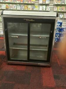 True Gdm 09 s Sliding Glass Door Refrigerator
