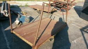 Heavy Duty Rolling Cart Good Used Condition 5 Ft X 3 Ft 4 Wheels