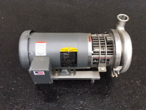 Top flo 2 Hp Stainless Steel Sanitary Centrifugal Pump