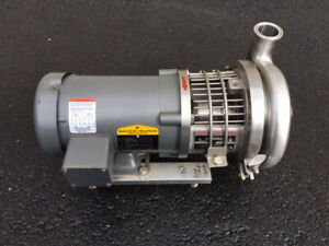 Top flo 75 Hp Stainless Steel Sanitary Centrifugal Pump