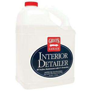Griot s Garage 10976 Interior Detailer Gallon Free And Fastest Shipping