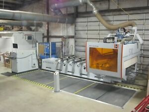 Holz her Pro master Type 7225c 7225 C 5xl 5 Axis Cnc Processing Center Year 2017