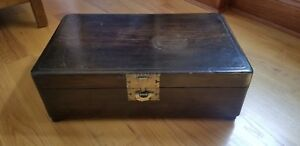 Reduced Antique Korean Dowry Small Chest Imported From S Korea 1
