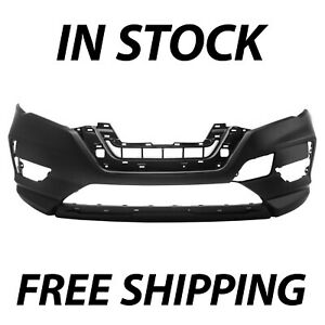 New Primered Front Bumper Cover With Textured Lower For 2017 2020 Nissan Rogue