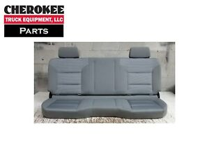 2018 Chevrolet Silverado 2500hd Double Cab Rear Seat full Bench cloth