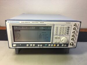 Rohde Schwarz Smiq06b Vector Signal Generator 6 4 Ghz Cal d Loaded W Options