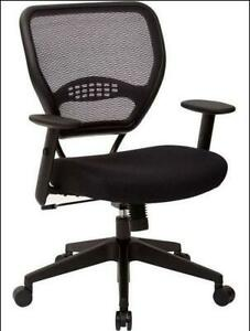 Office Star Products Mid back Mesh Adjustable Computer Swivel Office T