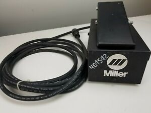Heavy Duty Miller Foot Pedal Rfc 14 Miller Welder 5 Pin Connector