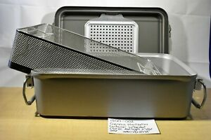 Genesis Sterilization Container Mid length With Basket Cd2 6c 1500 002