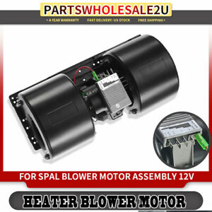New Hvac Blower Heater Motor W Fan Cage 12v For Car Bh132312v 76923 Replacement