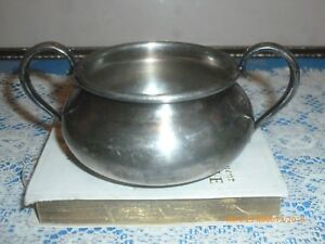 Forbes Silver Plate Co Quadruple Silver Plated Sugar Bowl