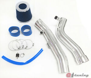 Blue Cold Air Intake Kit Filter For 2004 2008 Nissan Maxima 3 5l V6