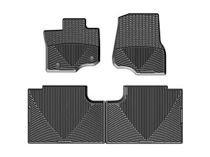 Weathertech All Weather Floor Mats For Ford F 150 Supercab 2015 2020 Black