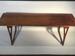 Mid Century 1960 S Hancrafted Danish Modern Coffee Table
